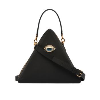 [MARI MARI] Holy Black Triangle Tote Bag
