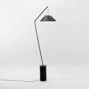 CONSTELLATION FLOOR LAMP (with leather shade)