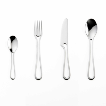 Outline cutlery glossy 24 pieces dining set