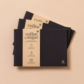 g.note coffee & sugar : Premium Notebook Set (x3) Made of Eco-friendly Paper