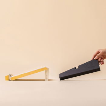 g.flow recycled paper: The Baobab Tree, Art Edition, Foldable & Portable Laptop Stand