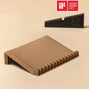 g.flow recycled paper: Camel Foldable & Portable Laptop Stand