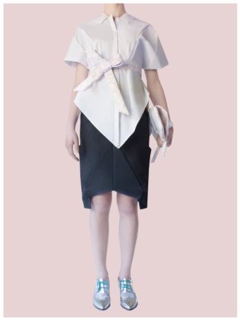 [ Origami Pen Skirt ]