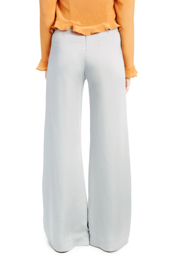 Wide Legged Pants Grey-Blue