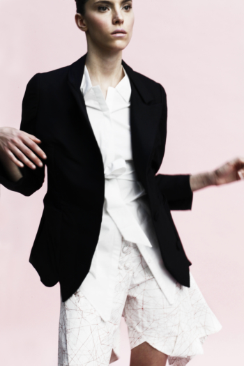 [ Origami Blazer Jacket ]