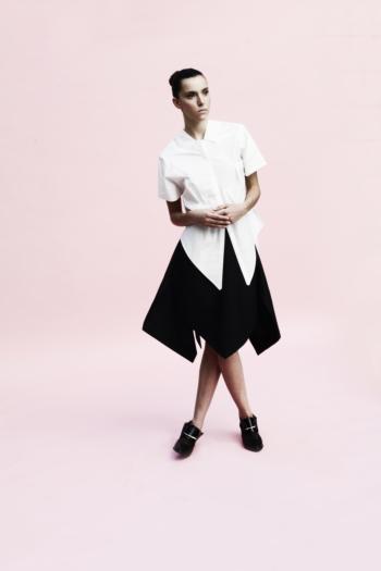 [ Origami Peacock Skirt ]