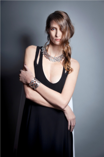 Iskin Barcelona Bracelet - Leather - Contemporary Jewelry