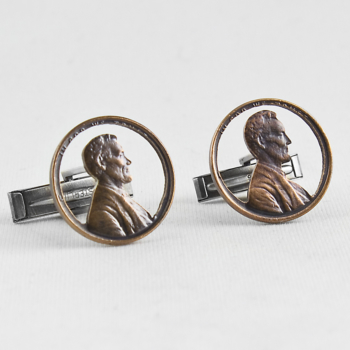 Abe Circled Cufflinks