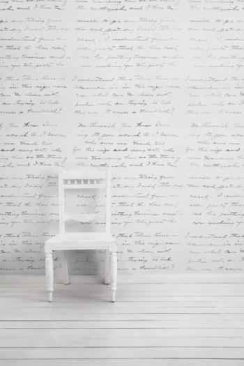 Almost White Concrete Loveletter Wallpaper