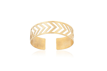 Herringbone Bangle
