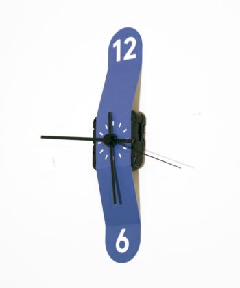 Sticker Clock- Blue
