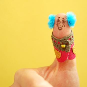 Thumbs up! Stamp: Bob
