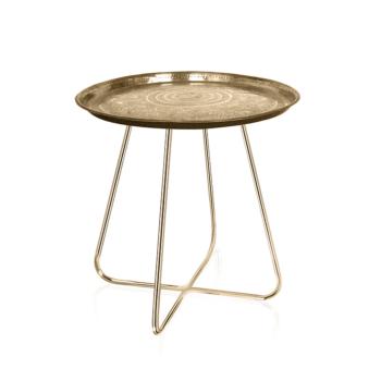 New Casablanca Table Short (Brass Legs)