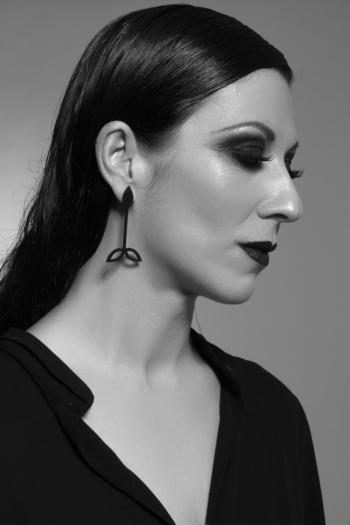 Silicone Earring. Design. Brote.