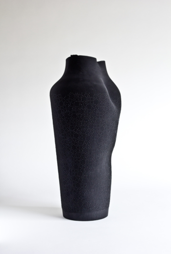 ASHES - decaying rubber vase I