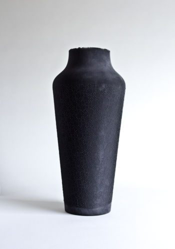 ASHES - full rubber vase