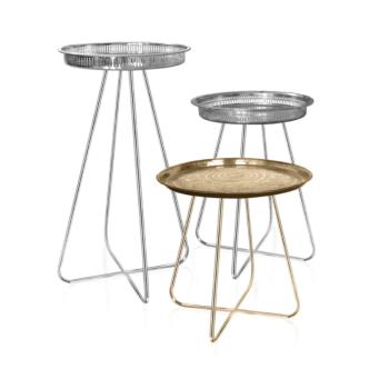 New Casablanca Table (Chrome Legs) Tall