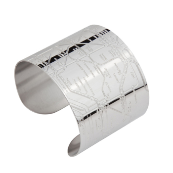 London Tube Cuff (embossed)