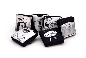 DIRTBAGS: Pillows for cleaning screens (Set of 6)