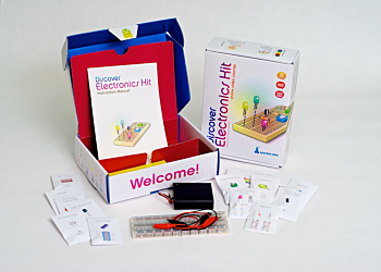 Discover Electronics- electronics learning kit with cool projects