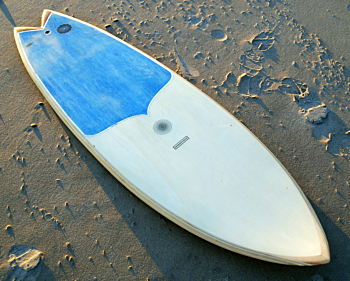 Spirare Wood with Recycled EPS Frame Surfboards