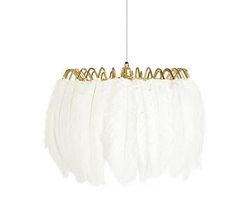 Feather Pendant Lamp White
