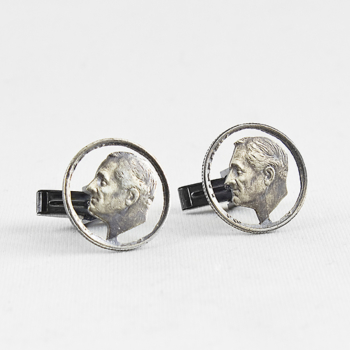 Franklin Circled Cufflinks