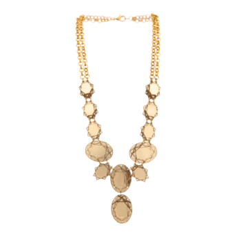 VECTORY OVAL GOLD (Necklace)