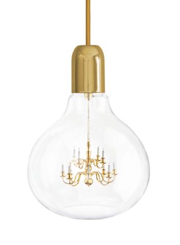 Gold King Edison Pendant Lamp