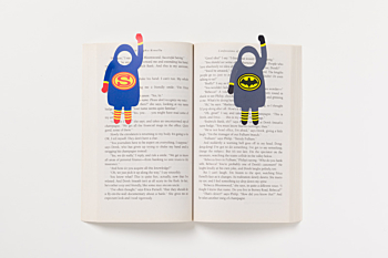 Book Heroes bookmark