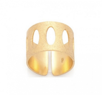 Oval Wide Ring