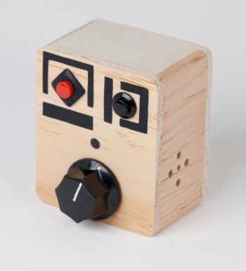 """Wood Voice Recorder with Pitch Control - """"Nob Nob"""""""