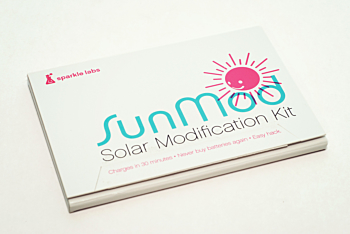 SunMod - Solar Modification Kit for battery powered devices