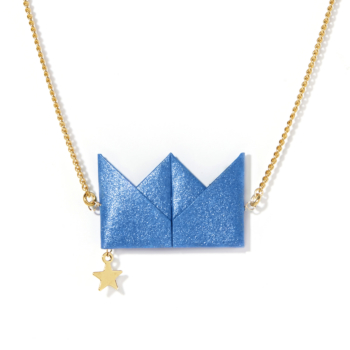 Drama Queen - Necklace - Blue
