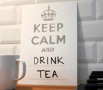 Keep Calm Board (White 210 x 297mm)