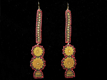 Orissa, earrings.
