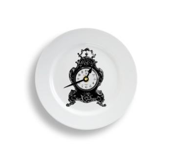 Clock Plate Clock Medium