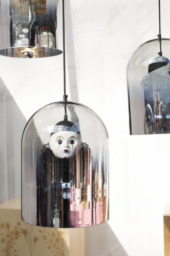 Pierrot Mirror Dome Pendant Lamp