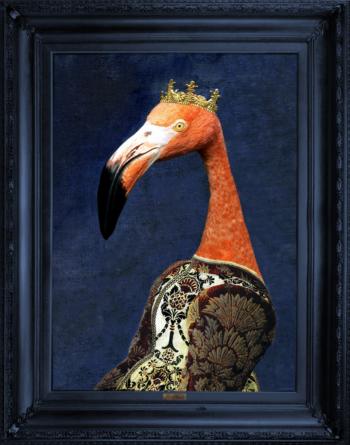 'Princess Flaminia' Stretched Printed Canvas - Small
