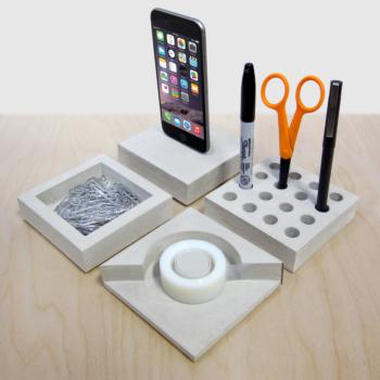SLABS modular desk accessories