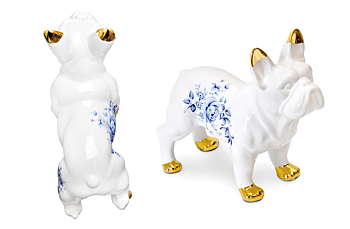Delft Ceramic Bulldog