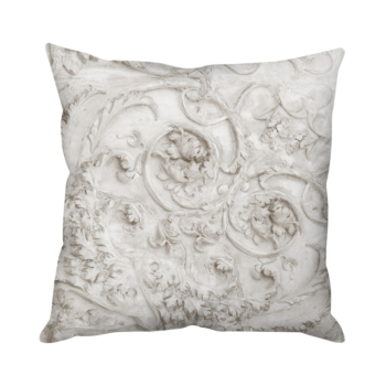 Stone Heart Taupe Cushion