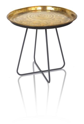 New Casablanca Table Tall (Grey Legs)