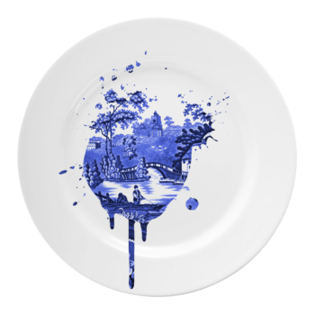 Undercover Antique Plate Medium