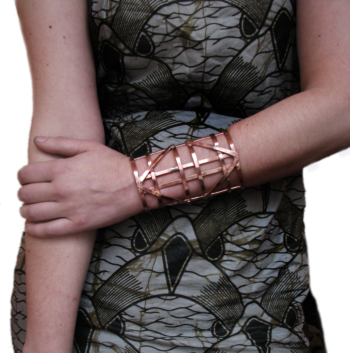 Full Automaton Copper Cuff