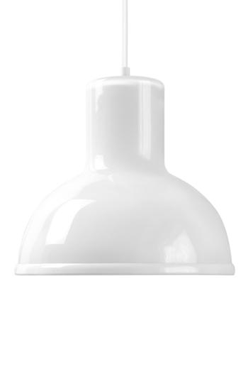 White Dome Pendant Lamp