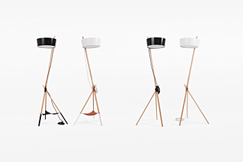 KA LAMP XL Functional. Floor lamp (with tray)