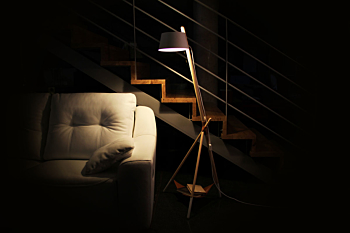 KA LAMP M Essential. Reading floor lamp (without tray)