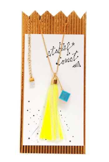 staRef Comet pendant : Yellow×White