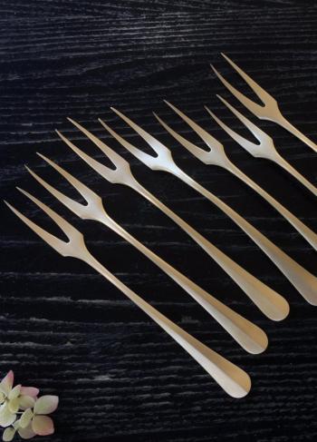 Brass Serving Fork